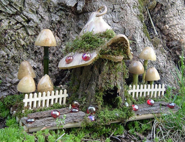 Enchanted Gourds Fairy Houses - 0425